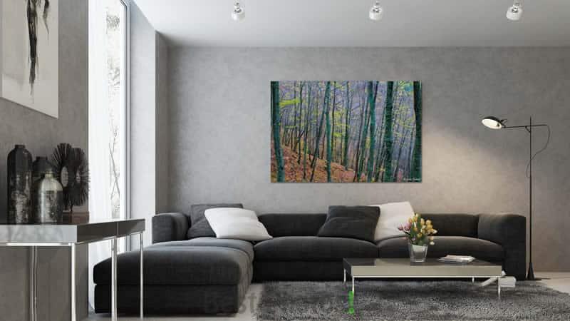 תמונה משגעת למשרד או חדר המתנה המעוצבים בסגנון נקי ומלא סטייל.