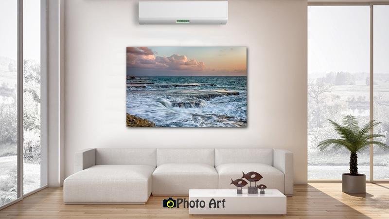 הדמיית תמונה של שצף ועוד מגוון תמונות נוף ים לבית
