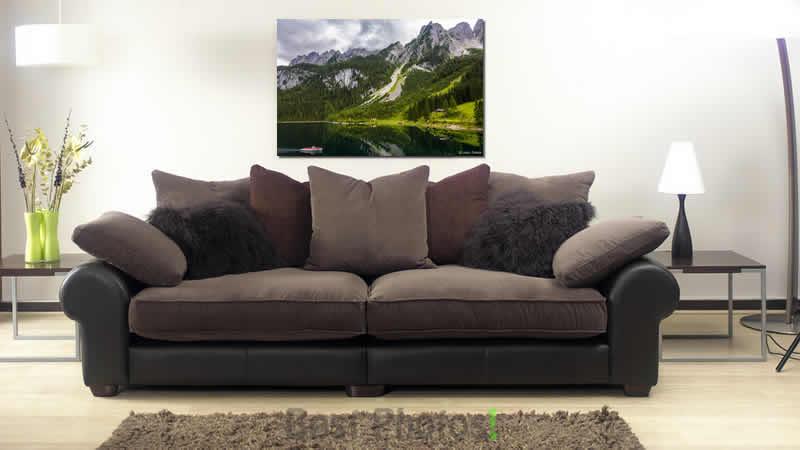תמונת הדמיה של שניים בסירה ממבחר תמונות נוף לסלון קלאסי