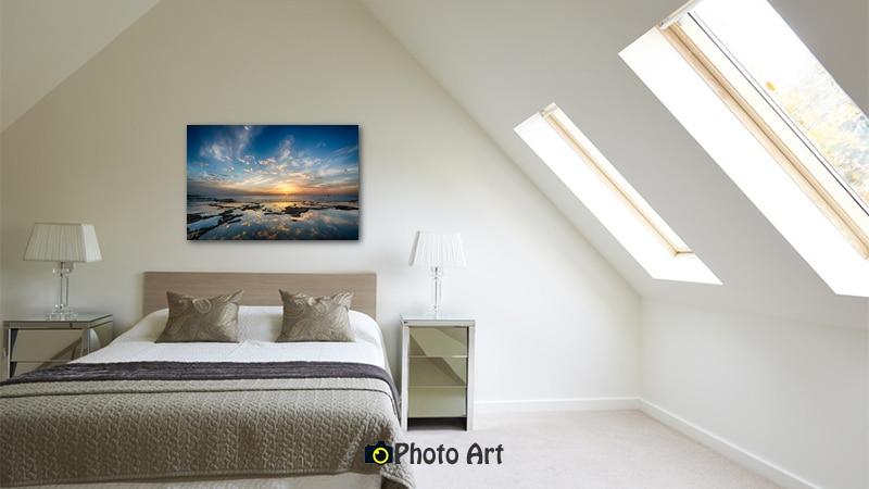 תמונה לסלון ולחדר השינה באווירה קסומה ומרגיעה