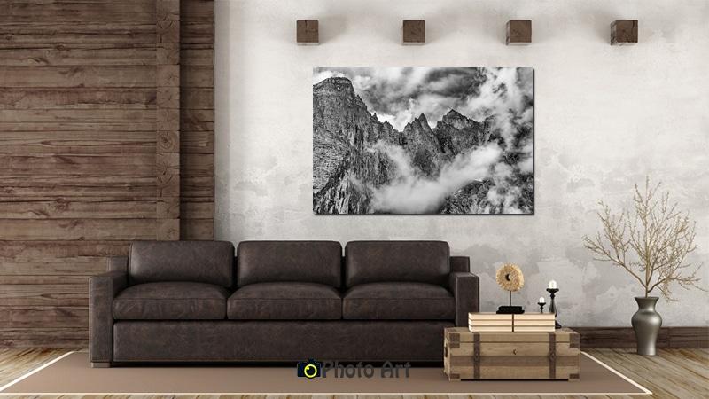 הדמיה של תמונה לסלון הנקראת סוער