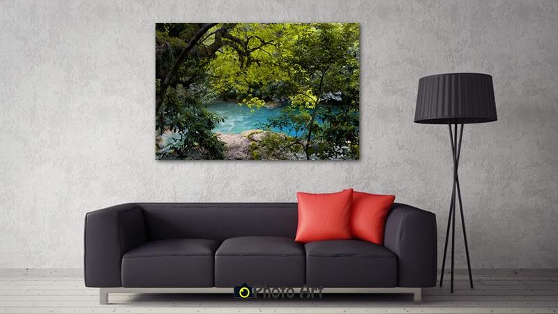 גלריה של תמונות לסלון - הדמיה בסלון של הנהר הנסתר
