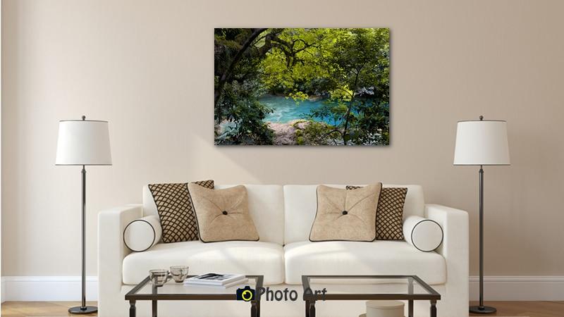 הדמיית תמונת הנהר הנסתר מתוך גלריה תמונות לסלון בעיצוב קלאסי