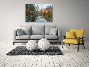 הדמיית התמונה שלנו בסלון שלכם