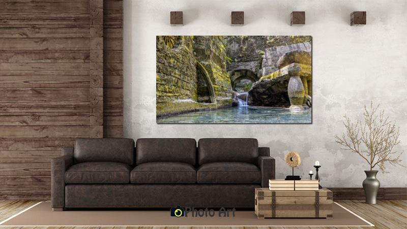 הדמיה של תמונה לסלון - תמונת מעשה ידי אדם