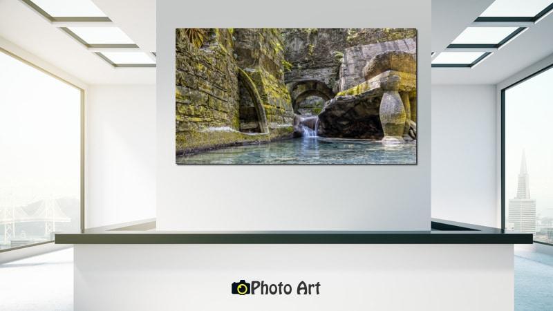 הדמיה של תמונת מעשה ידי אדם ועוד מבחר תמונות להדפסה