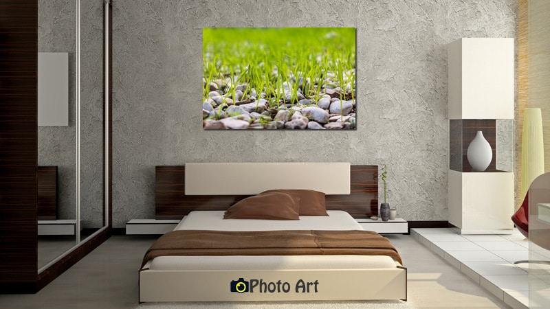 תמונת התחלות חדשות בהדמיה בחדר שינה מודרני