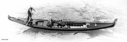 תמונת הגונדולייר ממגוון תמונות שחור לבן מקוריות