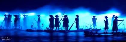 תמונת ליל הדייגים מתוך מבחר תמונות למשרד ולסלון