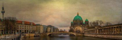 העיר ברלין בתמונה קסומה ממגוון תמונות לסלון ולמשרד