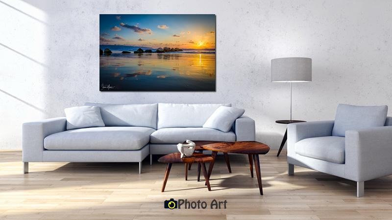 הדמיה של שקיעה מעל המפרץ ועוד מגוון תמונות נופים מרהיבות
