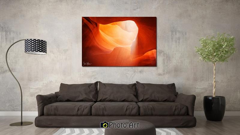 תמונת קרן אור בסלון ועוד מגוון תמונות יפות לסלון