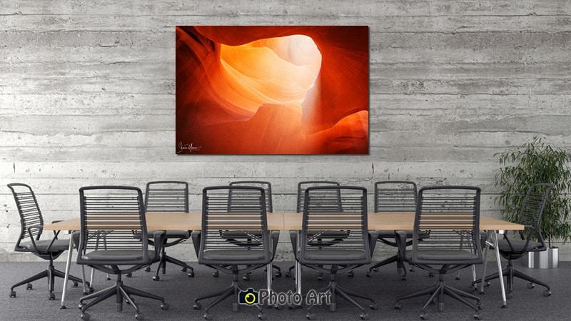 הדמיה של תמונה למשרד מודרני הנקראת קרן אור