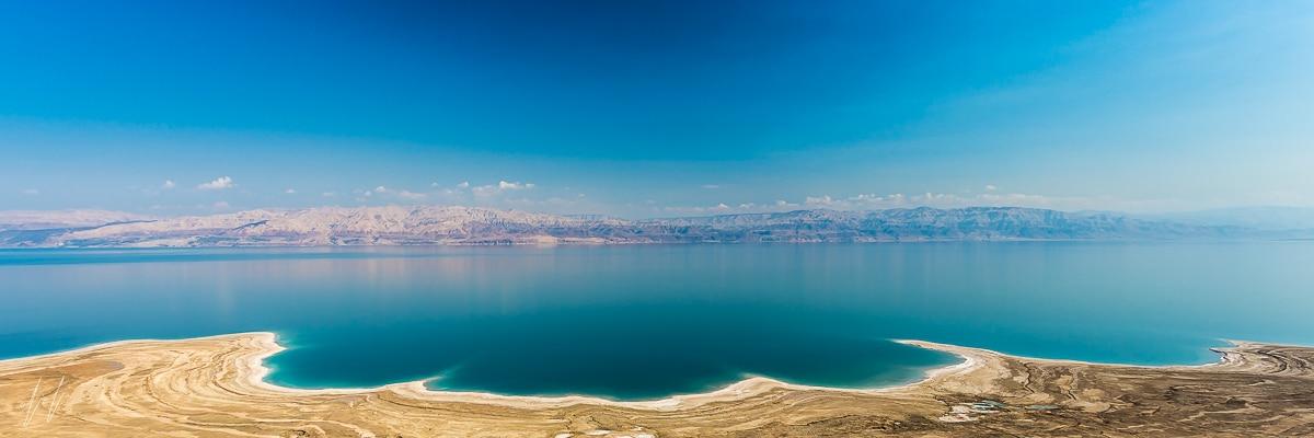 צילום פנורמי של ים המלח