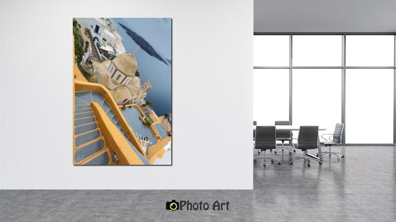 הדמיית תמונת פרספקטיבה מתוך מגוון תמונות למשרד מודרני