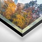 הדפסה על זכוכית אקרילית