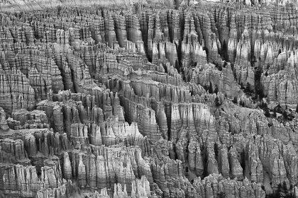 תמונת ברייס - זקיפי סלע שעיצבו הרוח והגשם