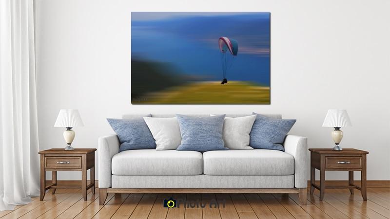 הדמיה של תמונת מרחף ועוד מבחר תמונות אווירה לסלון מיוחד