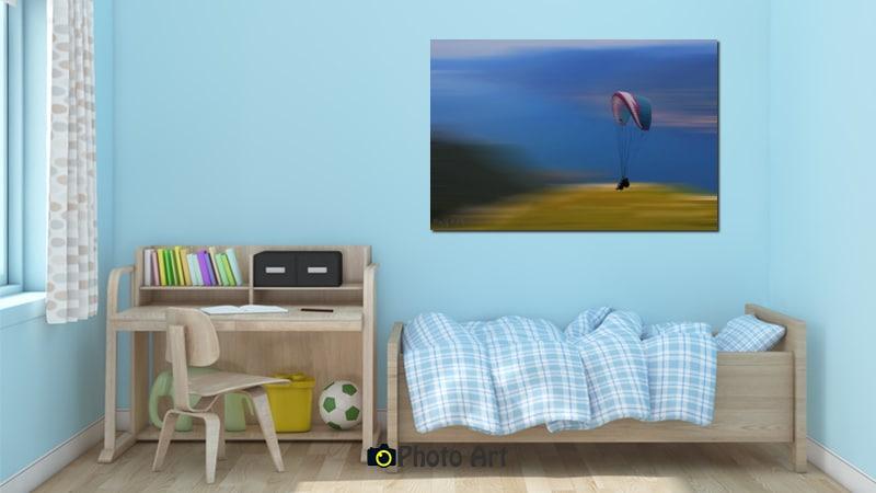 תמונות לחדר ילדים בהדמיה איכותית - תמונת מרחף