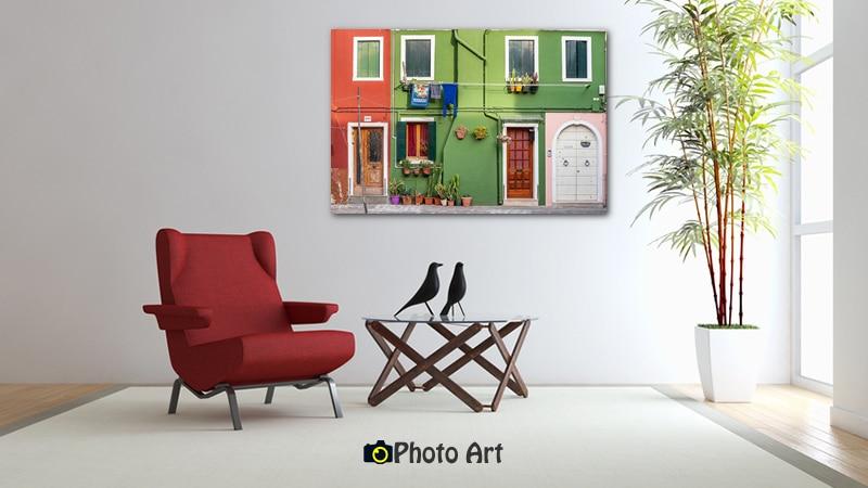 הדמיה של תמונת דלתות ועוד מגוון תמונות קיר יפות