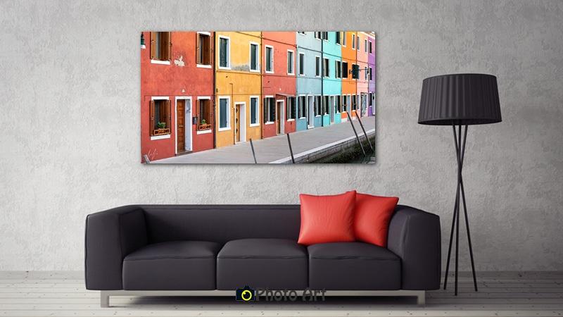 הדמיה של תמונת מה שצבע יכול לעשות בסלון מודרני