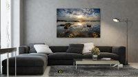 תמונות נוף ים מרהיבות לסלון מודרני