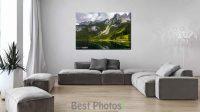 מבחר תמונות נוף לסלון מעוצב